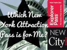 Como escolher entre os cartões de desconto nas atrações em NY?