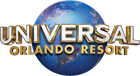 Promoção 3 parques Universal Orlando.  logo