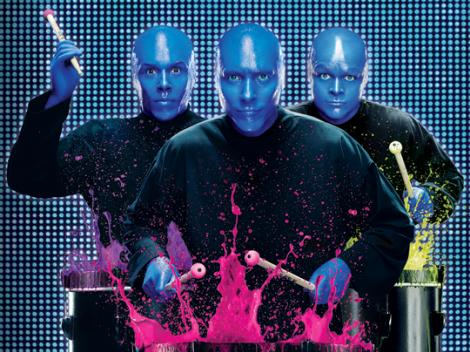 Desconto de 45% para o Blue Man Group!