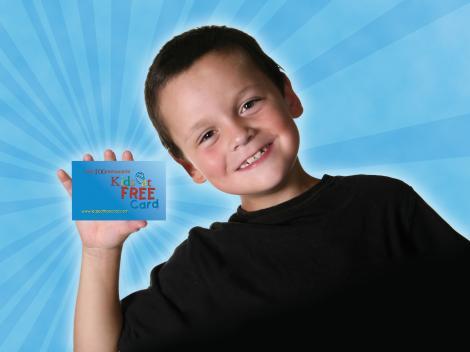Cartão Kids Eat Free Plus
