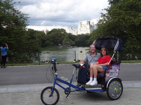 Central Park Pedicab Tour