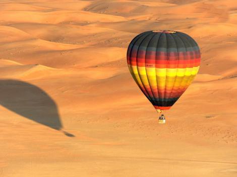 Dubai Hot Air Balloon Flight