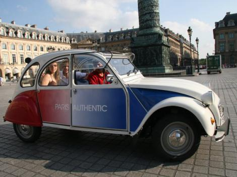 Paris Classics Tour by 2CV