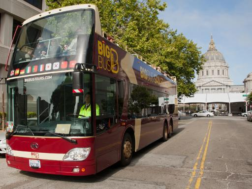 Premium One Day Big Bus Tours Ticket with Alcatraz