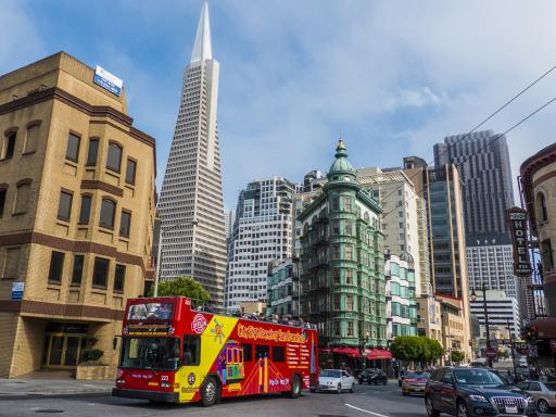 All Loops Double Decker Bus Tour of San Francisco