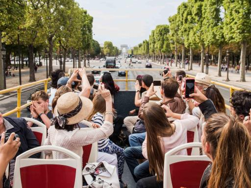 Big Bus Paris Hop-on Hop-off Bus Tour