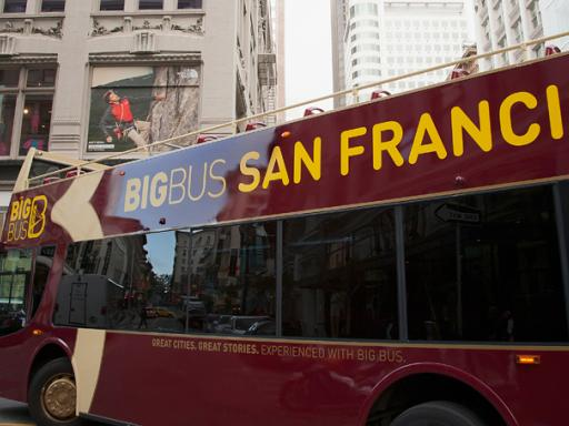 Big Bus San Francisco Hop-on Hop-off Bus Tour