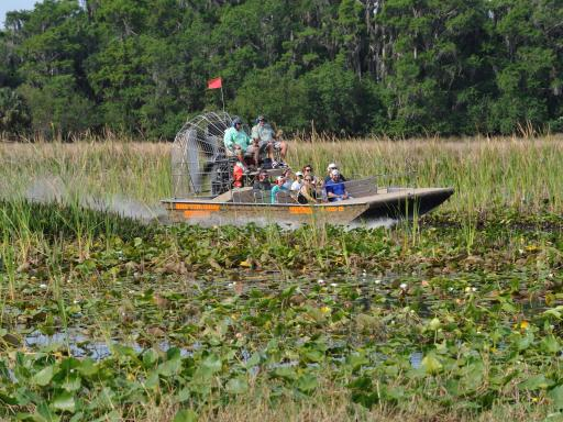 Boggy Creek Orlando Airboat Rides