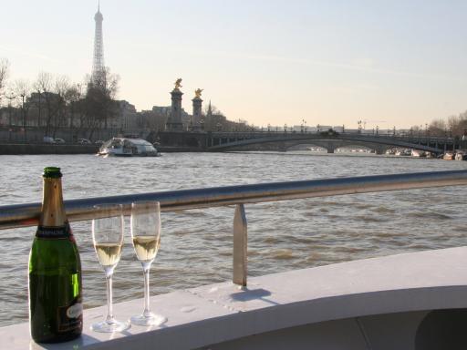 Champagne Cruise in Paris