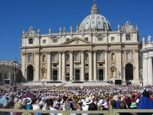 Papal Audience at Vatican City