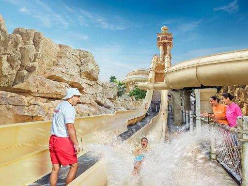 Wild Wadi Water Park Admission Ticket
