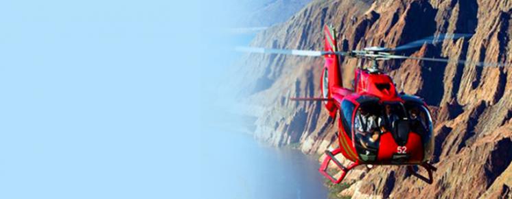 Passeio de Helicoptero no Grand Canyon em Las Vegas