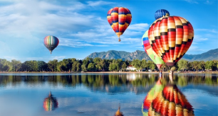 15% de desconto passeio de balão em Orlando