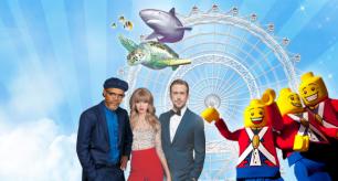 Desconto de 35% no combo Legoland & I-Drive