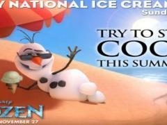 Dia nacional do sorvete nos parques da Disney