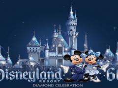 Celebração Diamond na Disneyland!