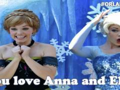 Frozen no Epcot e Magic Kingdom