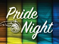 Festa de Orgulho GLBT no jogo de basquete do Orlando Magic
