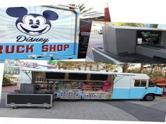 Loja Disney truck