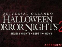 Halloween Horror Nights!