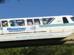 Monorail do Monsters University