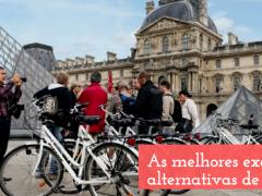 As melhores excursões alternativas de Paris