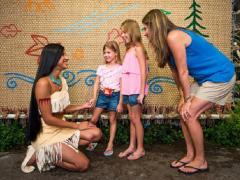 Pocahontas no Animal Kingdom