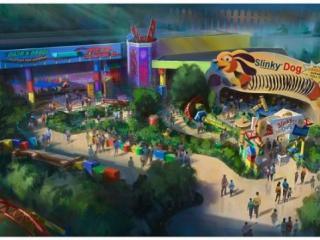 Toy Story Land na Disney!