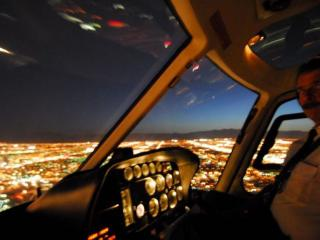 Voo Noturno de Helicóptero por Las Vegas Strip