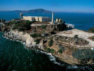 Alcatraz e All Loops em ônibus de dois andares por 72 horas