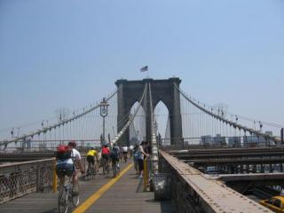 Tour Guiado de bicicleta na Ponte do Brooklyn