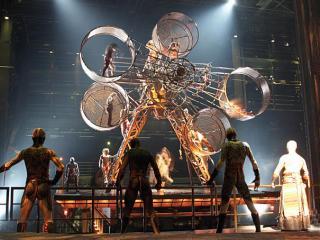 KA do Cirque du Soleil em Vegas