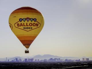 Passeio de Balão sobre Las Vegas
