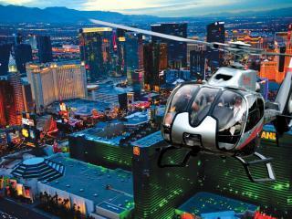 Voo Noturno de Helicóptero Las Vegas Strip