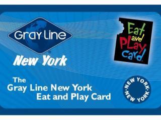 Cartão New York Eat and Play