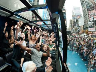 Tour imperdivel por NYC pelo THE RIDE