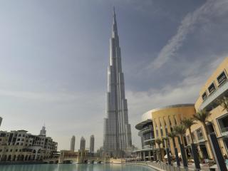 At the Top of the World - Burj Khalifa