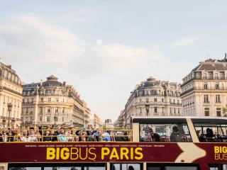 Big Bus Paris Hop-on Hop-off Bus Tour See all the iconic sights of Paris