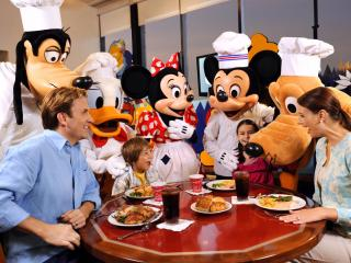 Chef Mickey's VIP Character Dinner