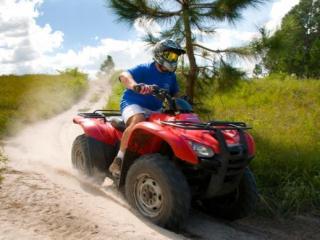 Dirigir ATV Quadriciclo