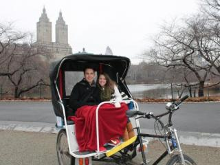 Tour de Pedicab no Central Park