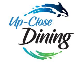 Up-Close Dining no Shamu Stadium no SeaWorld Orlando