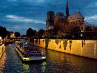 Torre Eiffel, Passeio de Barco e Luzes de Paris