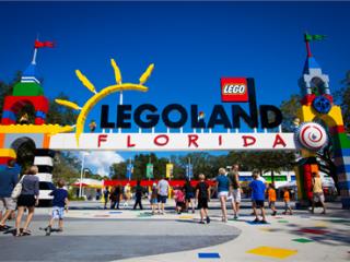 2 Dias Parque Temático e Aquático LEGOLAND Florida!