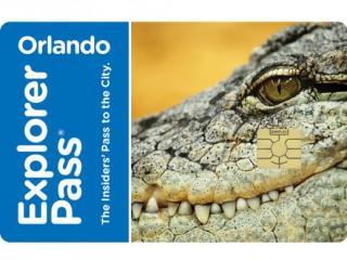 Cartão Orlando Explorer Pass