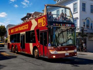 Ticket de Tour de Ônibus Hop-on Hop-off em San Francisco em 24 hour