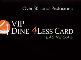 Cartão VIP Dine 4 Less Las Vegas – Disponível!