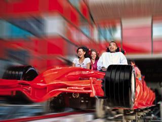 d55c7f72273 Ferrari World em Abu Dhabi tem exposição e atrações para todos