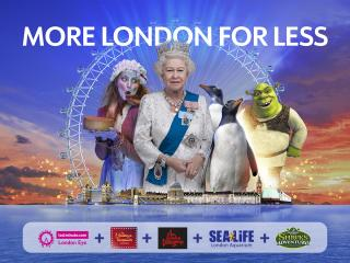More London for Less - 5 Attractions Pass