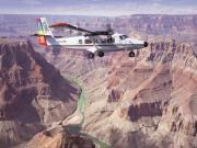 Voo de avião pelo Grand Canyon